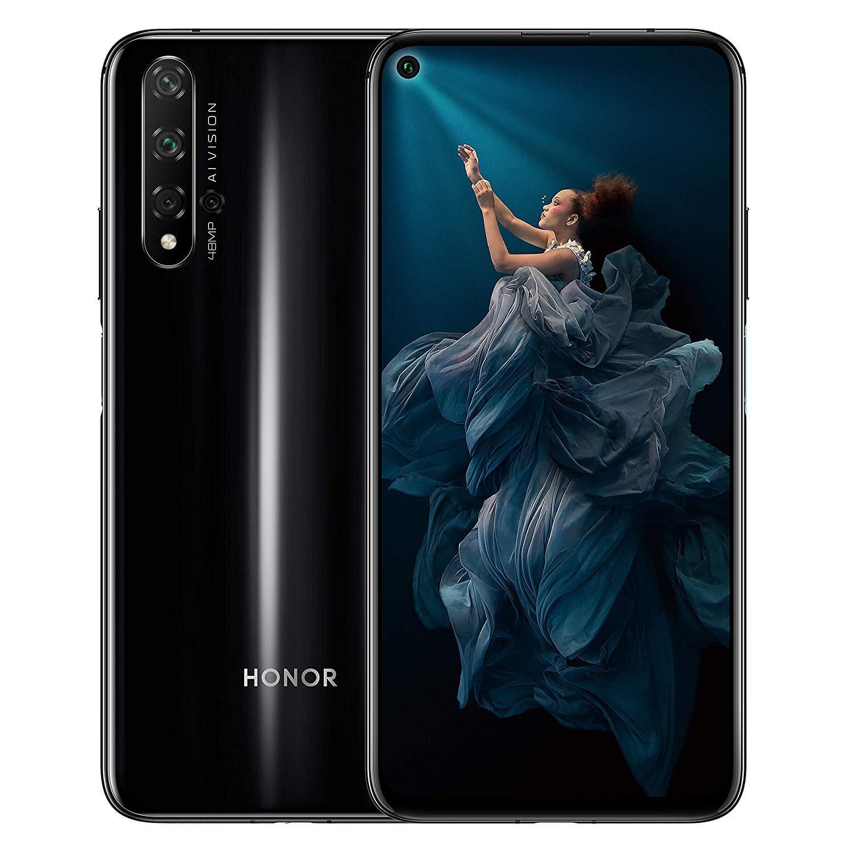 New Huawei Honor 20 Midnight Black 6.26