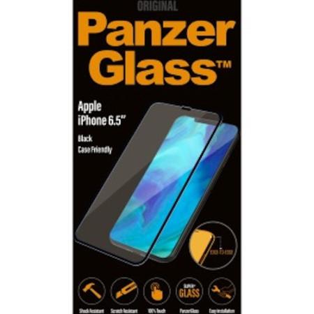 Genuine Panzer Glass 2625 Apple iPhone XS Max Edge Glass Screen Protector Black
