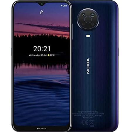 """New Nokia G20 Blue 6.5"""" 64GB Dual SIM 4G Android 11 Sim Free Unlocked"""