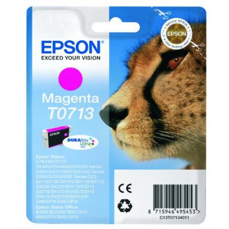 Epson Original T0713 Durabrite Magenta Ink Cartridge