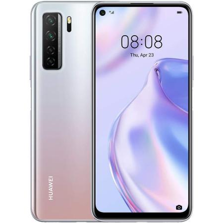 "New Huawei P40 Lite 5G Silver 128GB 6.5"" 6GB HMS Android 10 Sim Free UK"