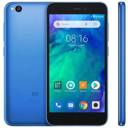 "New Xiaomi Redmi Go Blue 8GB 5"" 4G LTE Dual SIM Android 8.1 Sim Free UK"