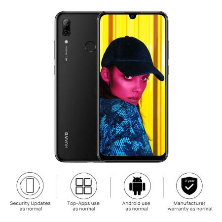 "New Huawei P Smart 2019 Black 6.21"" 64GB LTE Octa Core Android 9.0 Sim Free UK"