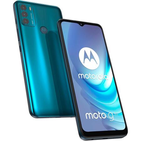 """New Motorola Moto G50 5G Aqua Green 6.5"""" 64GB Dual SIM Android 11 Sim Free"""