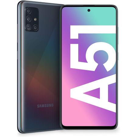 """New Samsung Galaxy A51 Dual SIM SM-A515F Black 6.5"""" LTE 128GB Factory Unlocked"""