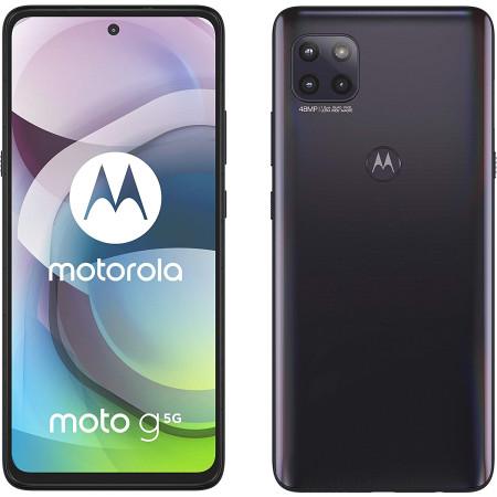 "New Motorola Moto G 5G Volcanic Grey 6.7"" 128GB Dual SIM Andriod 10 Unlocked Sim Free"