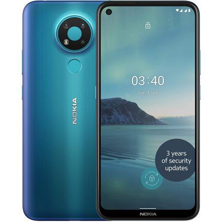 """New Nokia 3.4 Fjord 6.39"""" 32GB Dual SIM 4G Android 10 Sim Free Unlocked"""
