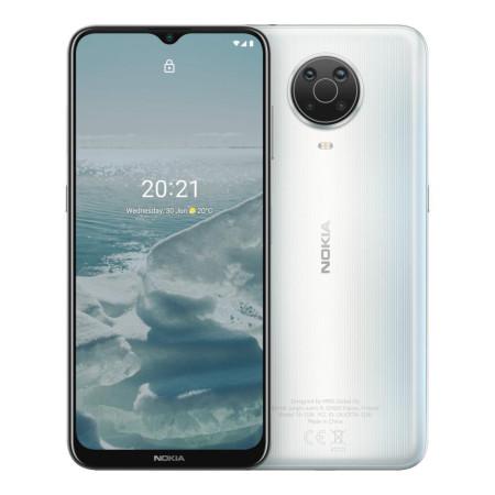 """New Nokia G20 Silver 6.5"""" 64GB Dual SIM 4G Android 11 Sim Free Unlocked"""