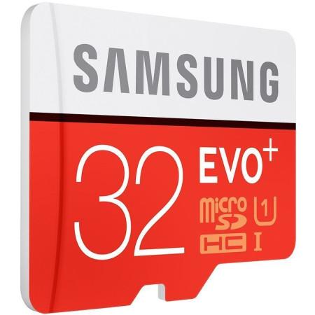 New Samsung EVO Plus 32GB 80M/s Class 10 Micro SD SDHC Memory Card MB-MC32DA