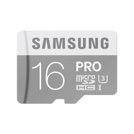 New Samsung PRO 16GB 80M/s Class 10 Micro SD HC Memory Card MB-MG16E/EU