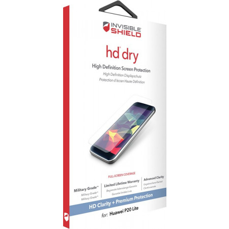Zagg Invisible SHIELD HD Huawei P20 Lite HD Screen Protector