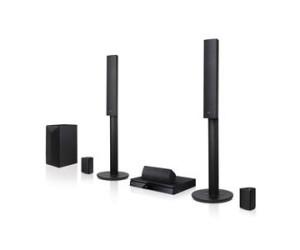 LG LHB645N (1000W) 5.1 Ch 3D Blu-ray DVD Home Theatre System Wireless Rear Speakers Bluetooth