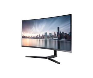 Samsung C34H890 Curved Ultra WQHD LED Monitor 3,000:1 300cd/m2 3440x1440 4ms DisplayPort HDMI (Black)
