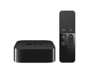 Apple Television Box 32GB Wi-Fi Bluetooth 4.0 Siri Remote (Black) - 4th Generation