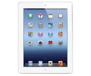 Apple iPad 3 (9.7 inch LED Multi-Touch) Tablet PC 64GB WiFi+4G Bluetooth Camera (White)