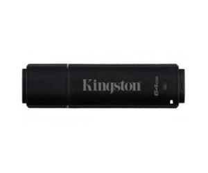 Kingston DataTraveler 4000 (64GB) Standard USB Flash Drive (256-bit Hardware Encryption) FIPS 140-2 Level 3 (Management Ready)