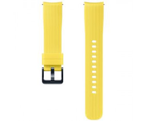 Samsung (20mm) Silicone Wrist Band (Yellow) for Gear Sport