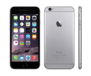 Bundle: Apple iPhone 6 (4.7 inch) 8MP Mobile Phone (Grey) + USB Cable + Box - Func Fail