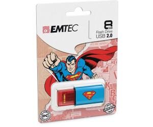 Brand New 8GB Emtec C600 Superman Single Pack USB 2.0 Flash Pen Drive