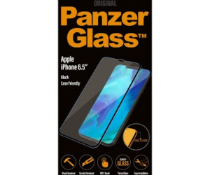 Genuine Panzer Glass 2625 Apple iPhone XS Max Edge Glass Screen Protector Black