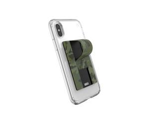 Speck GrabTab Finger Grip/Holder Mount Stand Camo Green Universal