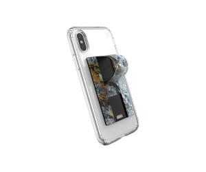 Speck GrabTab Finger Grip/Holder Mount Stand Marble Gold Universal