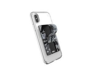 Speck GrabTab Finger Grip/Holder Mount Stand Camo Grey Universal