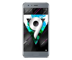 "New Huawei Honor 9 Glacier Grey 5.15"" 64GB Dual Sim 4G LTE Android 7.0 Sim Free UK"