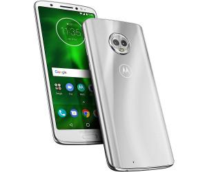New Motorola Moto G6 Silver 32GB LTE 4G Android 8.0 Unlocked Sim Free