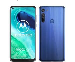 New Motorola Moto G8 Neon Blue 64GB Dual SIM Andriod 10 Unlocked Sim Free