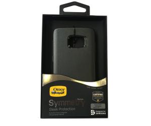 Genuine OtterBox Symmetry Samsung Galaxy S7 Shell Case BLACK