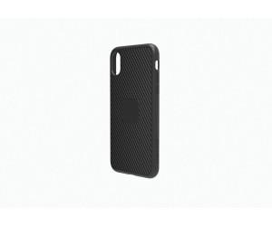 New Cygnett UrbanShield iPhone X Carbon Fibre Black Slim Case Cover
