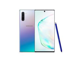 New Samsung Galaxy Note 10 Aura Glow SM-N970F LTE 256GB 4G Sim Free UK