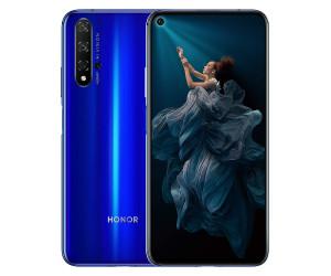 """New Huawei Honor 20 Sapphire Blue 6.26"""" 128GB Dual Sim 4G Android Sim Free Unlocked"""